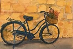 Blue Bike in Italy