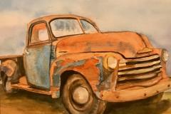 Old Rust Bucket Truck