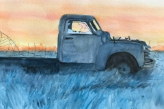 Old Truck in the Gloaming